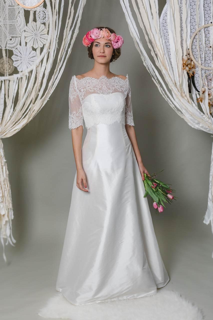 Brautkleid Wildseide | Amaris Monaberg