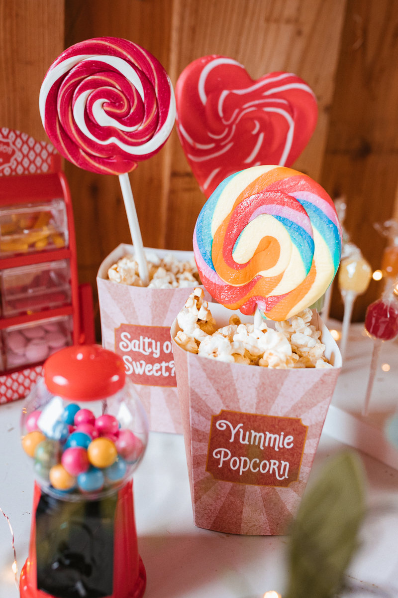 Candy Bar Wedding Circus Boho
