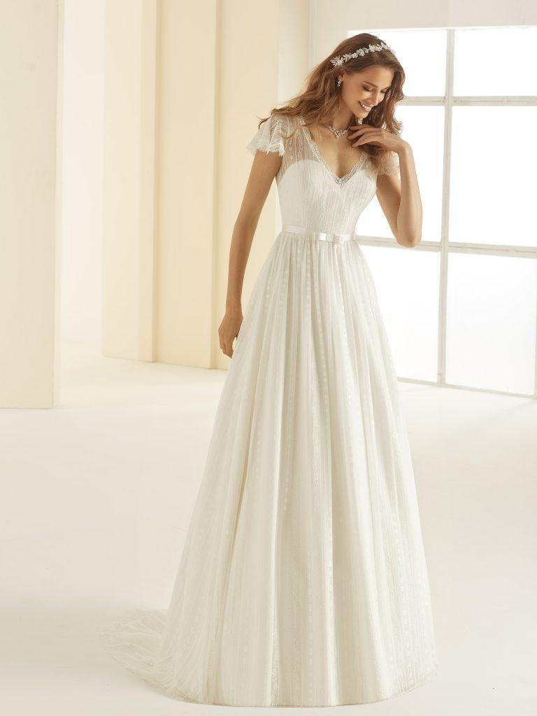 Romantisches Brautkleid Carolina aus der aktuellen Kollektion